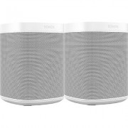 Two Room Set with Sonos One (two pack, white)