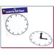Hygloss Products Inc. Blank Clock Kit 24 Clocks