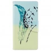 Bolsa tipo Carteira Wonder Series para Sony Xperia L1 - Pássaros