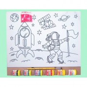 Kit Tela G Especial - Astronauta - Kits for Kids