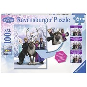 Ravensburger Disney Frozen Difference Hidden Changes Puzzle (100-Piece)