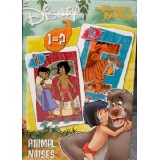 The Jungle Book 2 (Le Livre De La Jungle). 2 Jeux En 1 : Quartet Et Bruits D'animaux (Animal Noises)