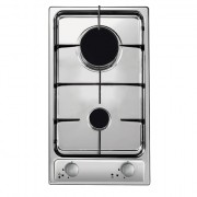 Candy CDG32/1SPX Gas, Number of burners/cooking zones 2, Stainless steel