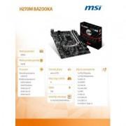 MSI H270M BAZOOKA s1151 H270 4DDR4 M.2/USB3.1