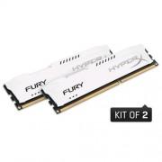 Kingston 8GB DDR3-1866MHz HyperX FURY White, 2x4GB