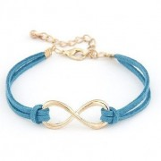 Infinity Bracelet Eight Cross Bracelet Bangle Jewellery - Orange