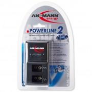 Ansmann Batterij-oplader Powerline 2 zwart 5107043