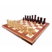 Set de șah sculptat CASTEL PREMIUM LARGE