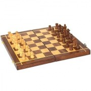 Triple S Handicrafts Foldable Non-magnetic Handmade 10 inch Chess Board