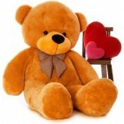 3 Feet Stuffed Spongy Huggable Cute Teddy Bear Birthday Gifts Girls - Brown