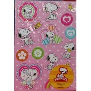 Peanuts Snoopy And Woodstock Valentine Magnet Set