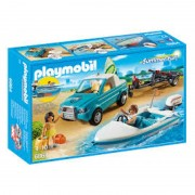 Barca de Viteza cu Surfer Playmobil