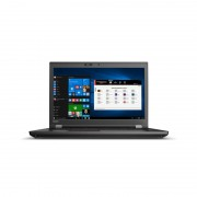 """ThinkPad P72 Noir Station de travail mobile 43,9 cm (17.3"""") 1920 x 1080 pixels Intel® Core™ i7 de 8e génération i7-8850H 16 Go D"""
