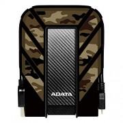 """ADATA AHD710MP-1TU31-CCF Disco Duro Externo Portátil HD710M Pro Resistente a Golpes, protección contra polvo y agua IP68, 1TB, 2.5"""", USB 3.1 Gen1, Camuflaje Arena"""
