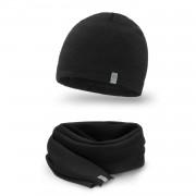 Zimowy komplet męski PaMaMi - czapka i szalik