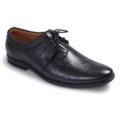 BUCIK Men's BLACK Synthetics Leather Lace Up Formal Shoes