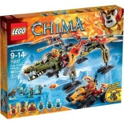 LEGO Chima King Crominus' Rescue, 70227 Aim the Fire Tracker's Disc Shooters