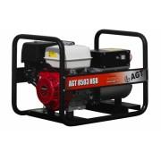 Generator De Curent Agt 8503 Hsb 5/8 Kva Motor Honda Gx390 , 6.1 L