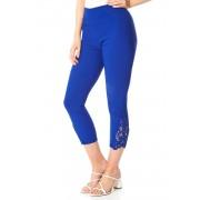 Roman Originals Lace Insert Crop Stretch Trousers