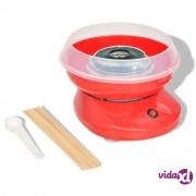 vidaXL Aparat za Šećernu Vunu 480 W Crveni