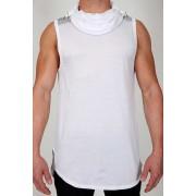 Pistol Pete Elite Hoody Sleeveless Sweater White/Grey MT259-917