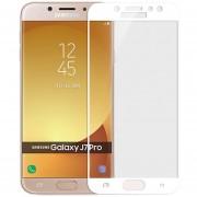 MOFI Para Samsung Galaxy J7 PRO Full Screen 2.5D A Prueba De Explosion 9h La Dureza De La Superficie De Vidrio Templado (blanco)
