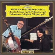 Video Delta Argerich/Rostropovich - Chopin: Cello Sonata Polonaise Op.3/Adagio - CD