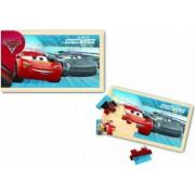 Puzzle Cars 3 din lemn, 15 piese