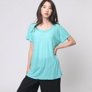 【SALE 80%OFF】ヒューマンウーマン HUMAN WOMAN outlet SUNDRY カットTシャツ (グリーン)