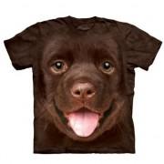 The Mountain Honden T-shirt bruine Labrador puppy voor kinderen