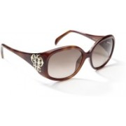 Emilio Pucci Over-sized Sunglasses(Brown)
