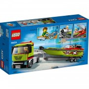 LEGO City raceboottransport 60254