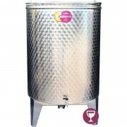 Bure za vino EZIO INOX -500L