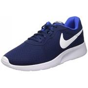 Nike Men s Tanjun Running Sneaker MIDNIGHT NAVY/WHITE-GAME ROYAL 11 D(M) US