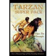 Tarzan Super Pack: Tarzan of the Apes, The Return Of Tarzan, The Beasts of Tarzan, The Son of Tarzan, Tarzan and the Jewels of Opar, Jung, Hardcover/Edgar Rice Burroughs