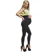 Melanie 200 DEN kismama leggings, fekete XL