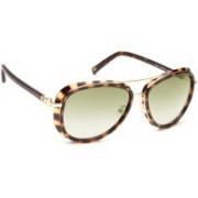 Tommy Hilfiger Aviator Sunglasses(Green)