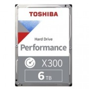 "6TB Toshiba X300, SATA 6Gb/s, 7200rpm, 128MB, 3.5"" (8.89cm), bulk"