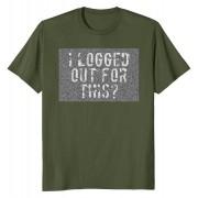Тениска Logged out