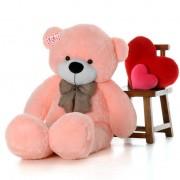 Huge 6 Feet Pink Bow Teddy Bear Soft Toy 180 cm