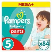 Pampers scutece chilotel Baby-Dry nr.5 12-18 kg 84 buc