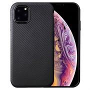 Ultra Dun iPhone 11 Pro TPU Case - Carbon Fiber - Zwart
