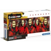 Puzzle 1000 Clementoni Panorama - La Casa de Papel
