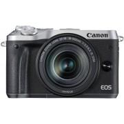 Canon EOS M6 + EF-M 18-150mm / Zilver
