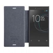 Husa flip Nillkin Sparkle pentru Sony Xperia XZ1 Compact negru