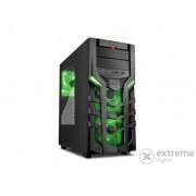 Carcasa Sharkoon DG7000, negru-verde