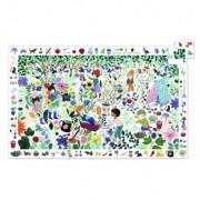Puzzle observatie Djeco 1000 de flori