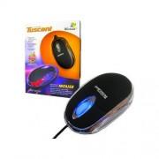 Mouse 4World Mini Tuscani Color USB Black