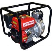 Pompa de apa ROTAKT ROMP6548, capacitate combustibil: 3.6 L, putere maxima motor: 6.5 CP, capacitate cilindrica: 196 cmc