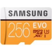 Samsung EVO 256 GB SDXC Class 10 100 Mbps Memory Card(With Adapter)